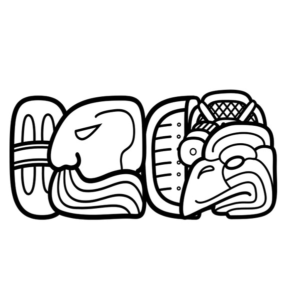Mayan svg #18, Download drawings