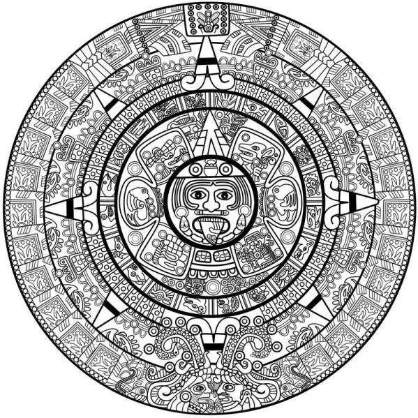 Mayan svg #16, Download drawings