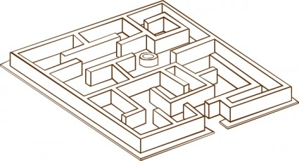 Maze clipart #2, Download drawings