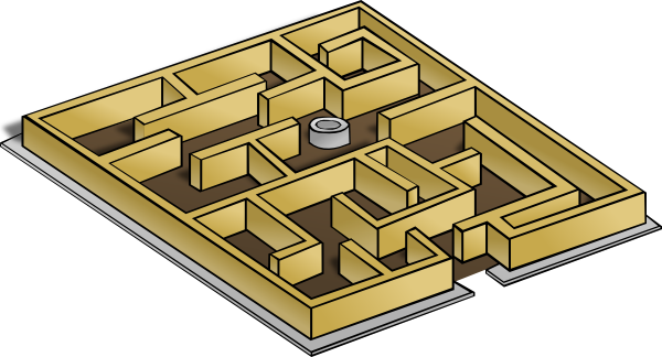 Maze clipart #18, Download drawings