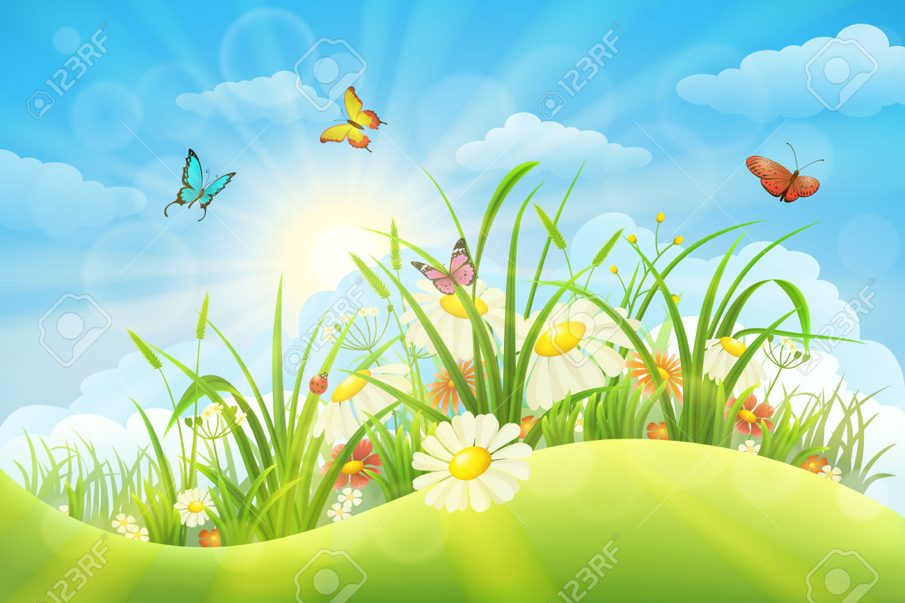 Meadow clipart #13, Download drawings