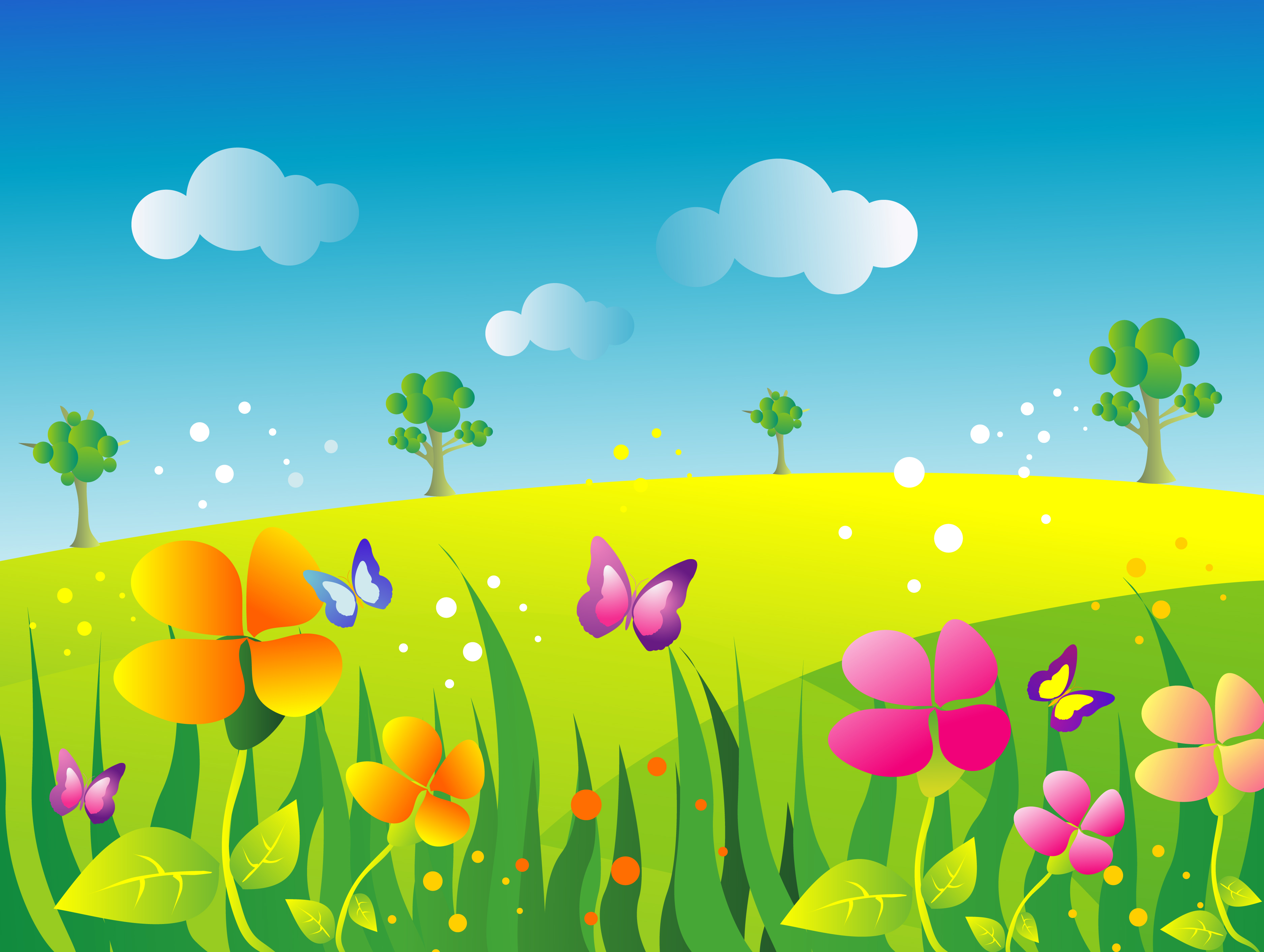 Meadow clipart #19, Download drawings