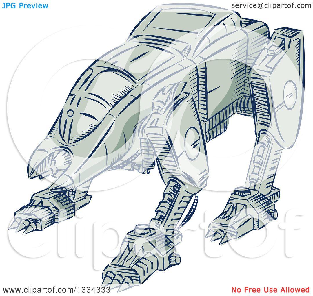 Mecha clipart #6, Download drawings