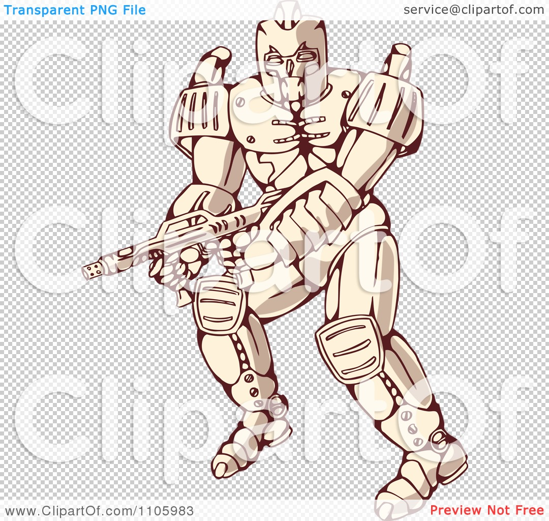 Mecha clipart #2, Download drawings