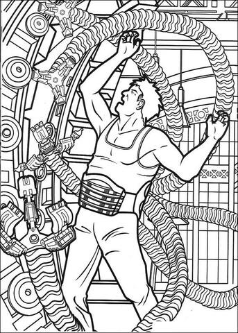 Mechanical coloring #8, Download drawings
