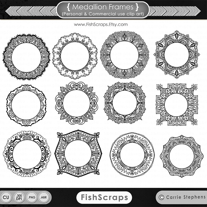 Medallion clipart #5, Download drawings
