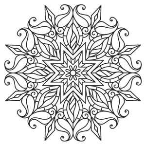 Medallion coloring #20, Download drawings