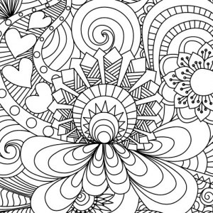Medallion coloring #17, Download drawings