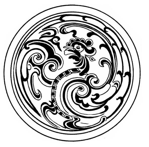 Medallion coloring #8, Download drawings