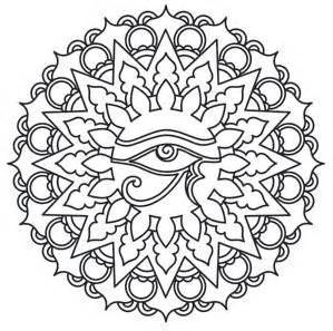 Medallion coloring #12, Download drawings