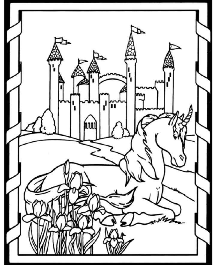 Medieval coloring #13, Download drawings