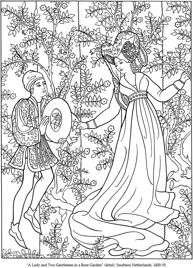 Medieval coloring #10, Download drawings
