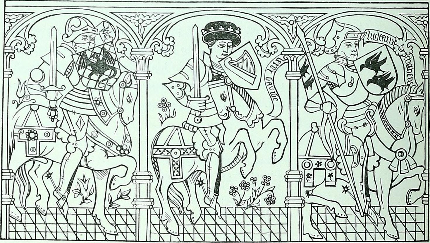 Medieval coloring #20, Download drawings