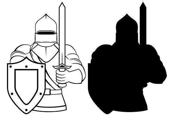 Medieval svg #19, Download drawings