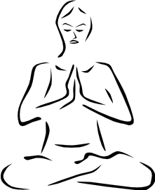 Meditation clipart #9, Download drawings