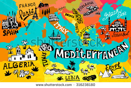 Mediterranean clipart #8, Download drawings