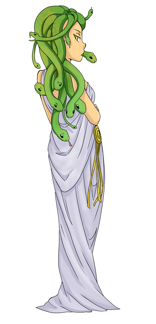 Medusa clipart #1, Download drawings