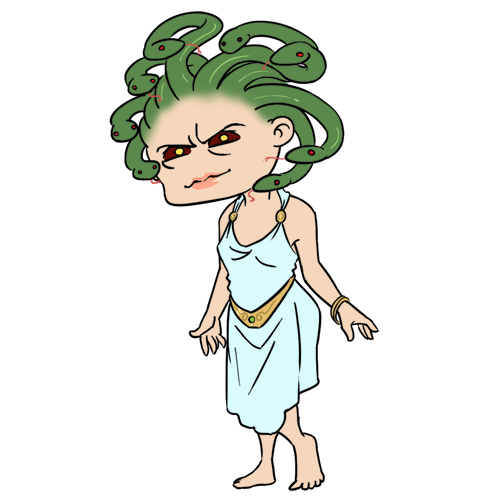 Medusa clipart #2, Download drawings