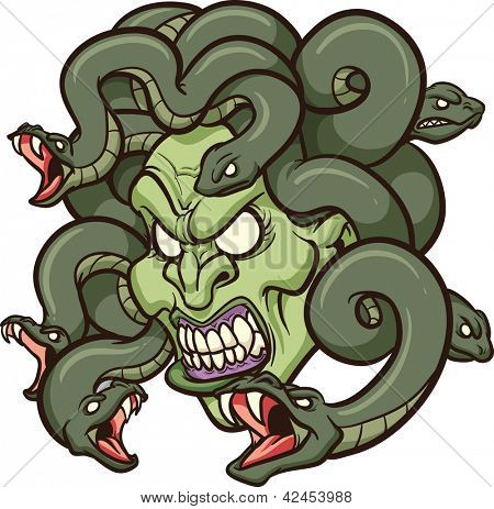 Medusa clipart #16, Download drawings