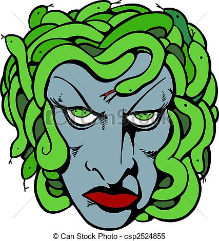 Medusa clipart #7, Download drawings