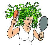 Medusa clipart #6, Download drawings