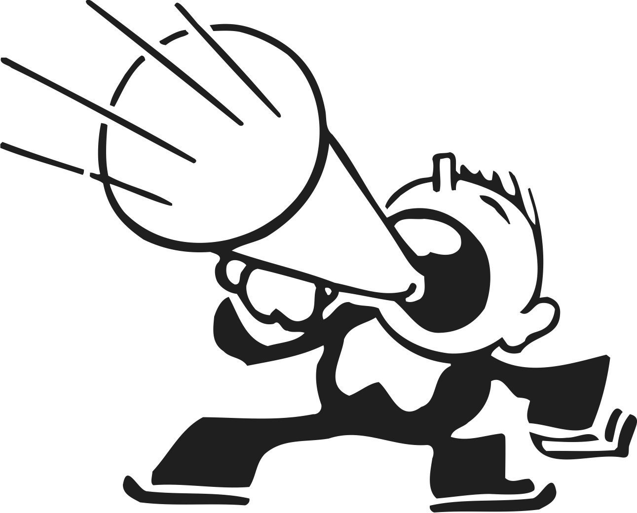 Megaphone clipart #3, Download drawings
