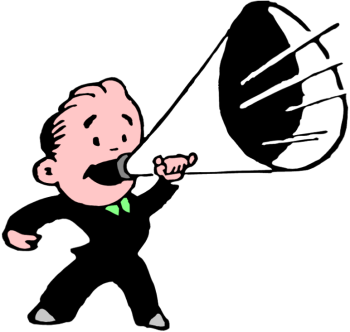 Megaphone clipart #12, Download drawings