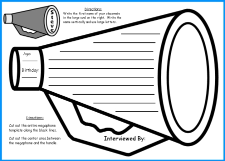 Megaphone coloring #8, Download drawings