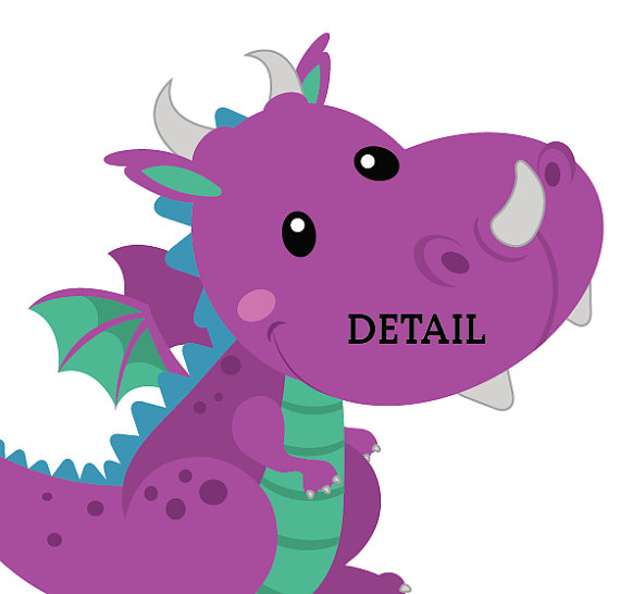 Megenta The Dragon clipart #6, Download drawings