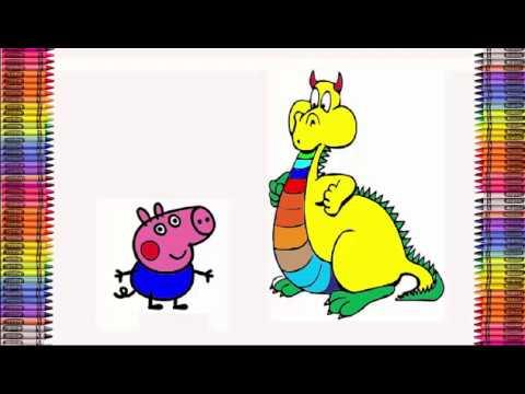 Megenta The Dragon coloring #12, Download drawings