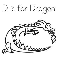Megenta The Dragon coloring #9, Download drawings