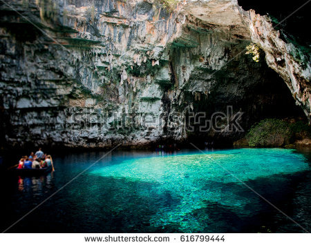 Melissani Cave clipart #2, Download drawings