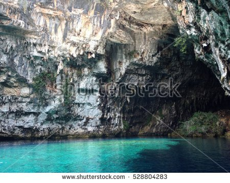 Melissani Cave clipart #1, Download drawings