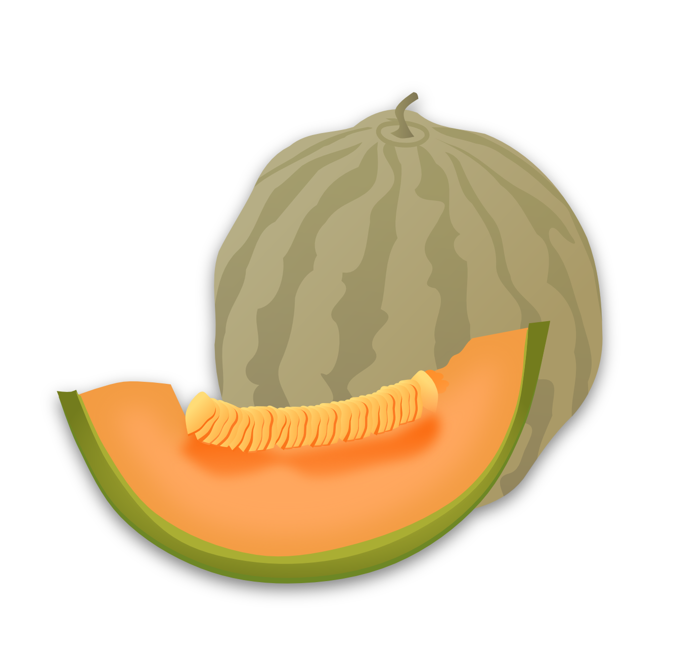 Melon clipart #7, Download drawings