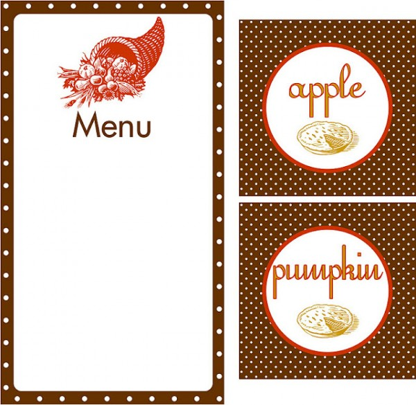 Menu clipart #2, Download drawings