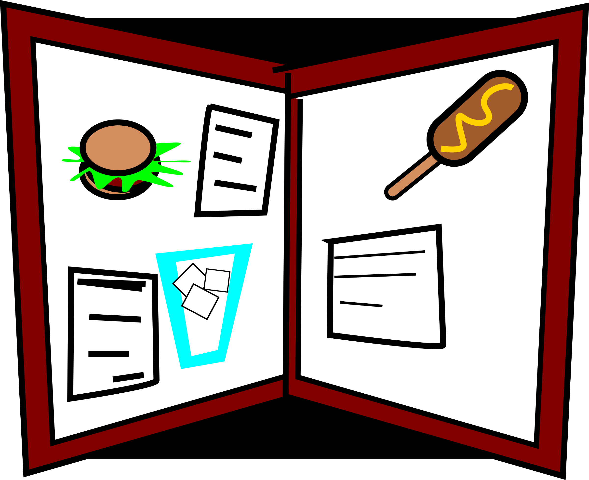 Menu clipart #6, Download drawings