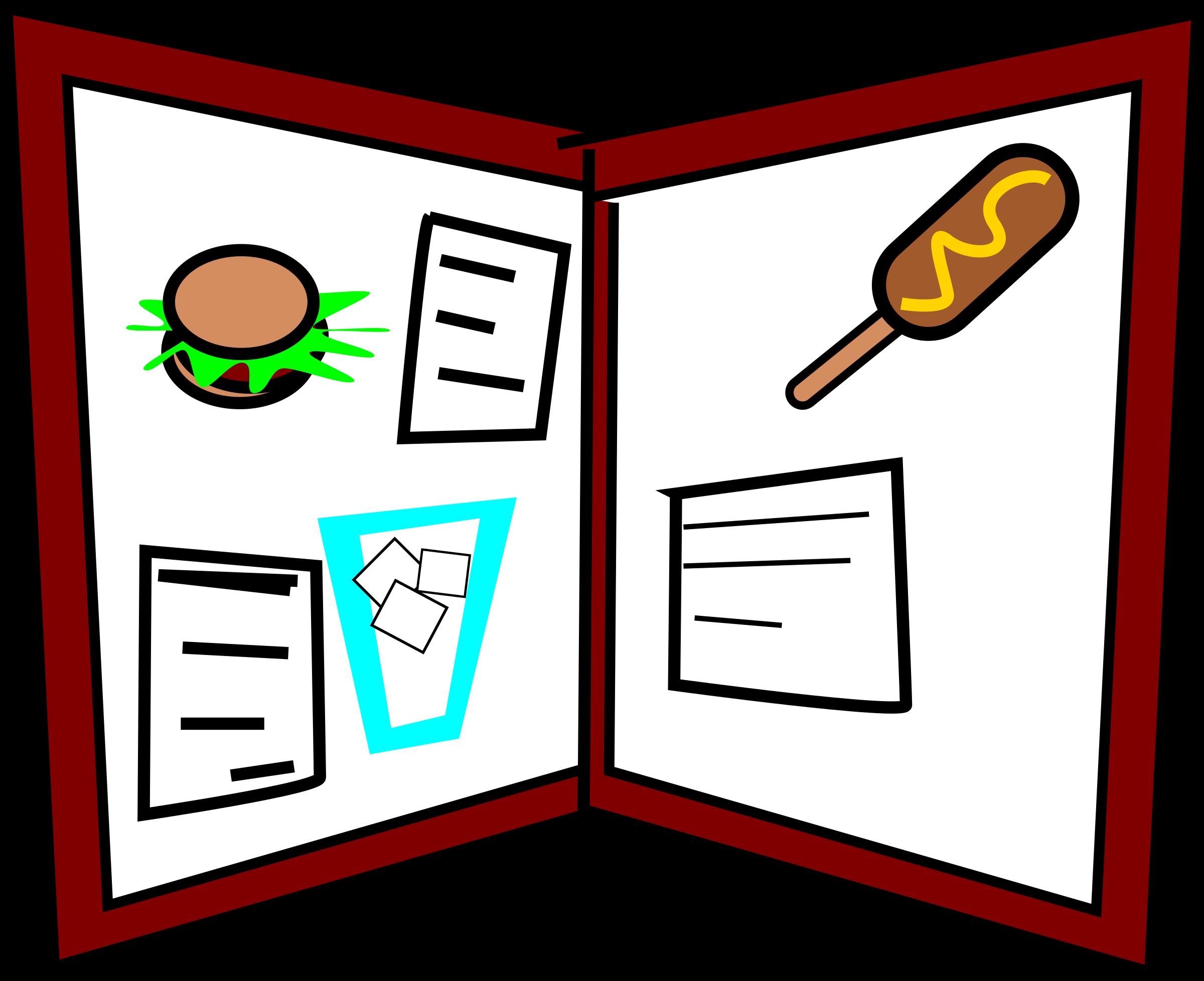 Menu clipart #6, Download drawings