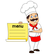 Menu clipart #9, Download drawings