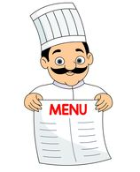 Menu clipart #19, Download drawings