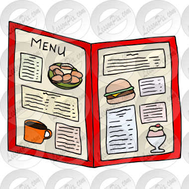 Menu clipart #18, Download drawings