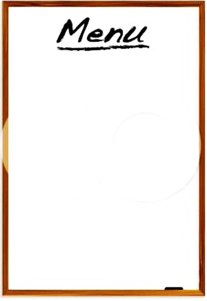 Menu clipart #4, Download drawings