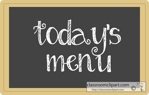 Menu clipart #7, Download drawings