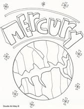 Mercury coloring #13, Download drawings
