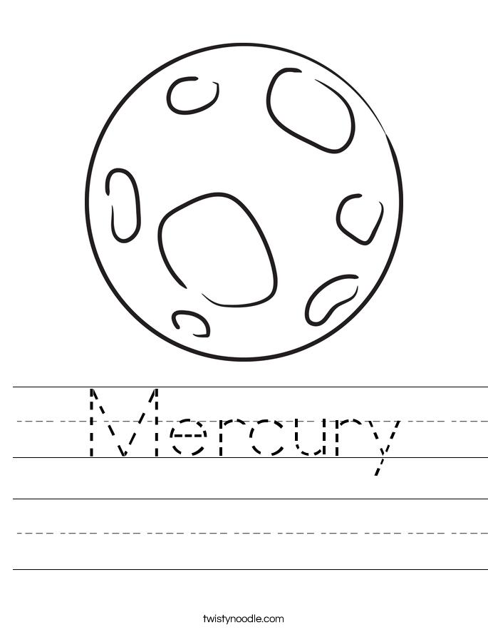Mercury coloring #11, Download drawings