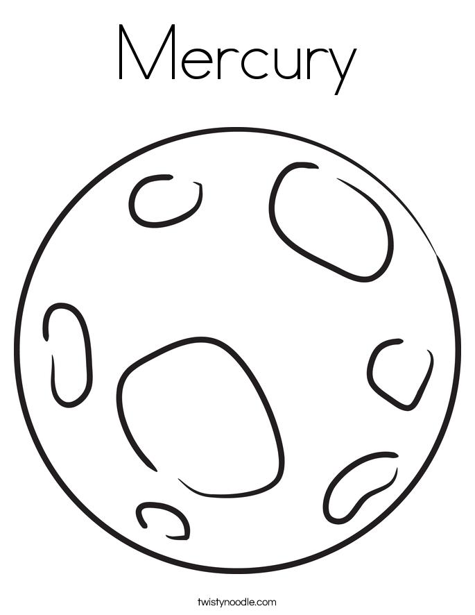 Mercury coloring #19, Download drawings
