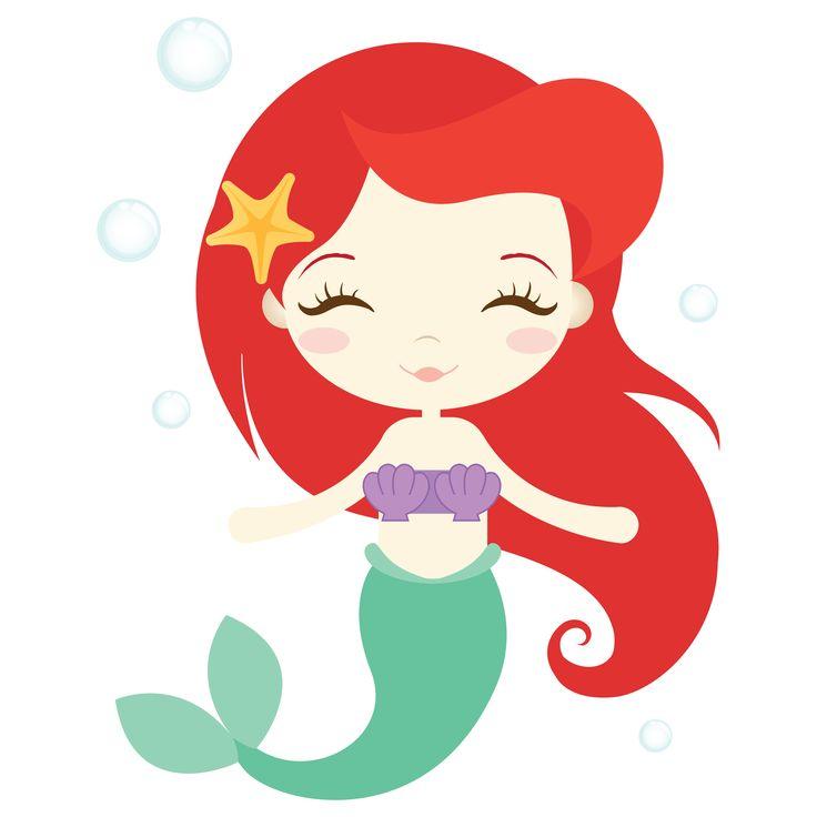 Mermaid clipart #18, Download drawings