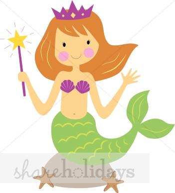 Mermaid clipart #13, Download drawings