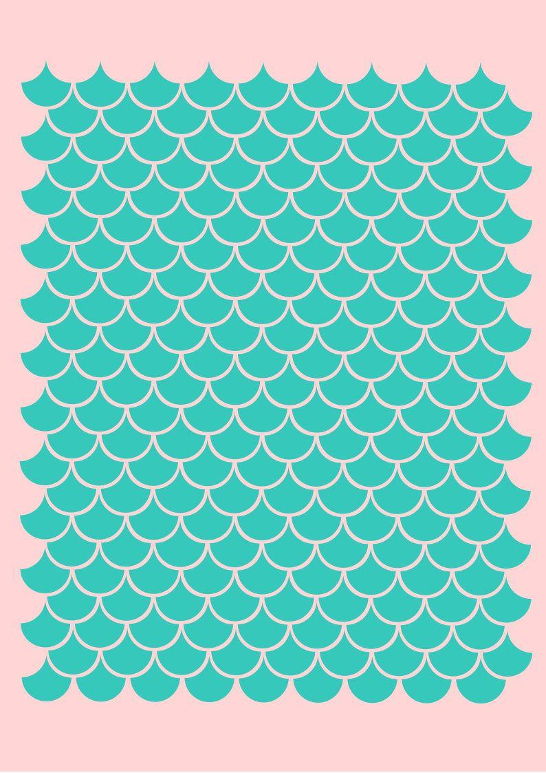 mermaid scales svg free #984, Download drawings