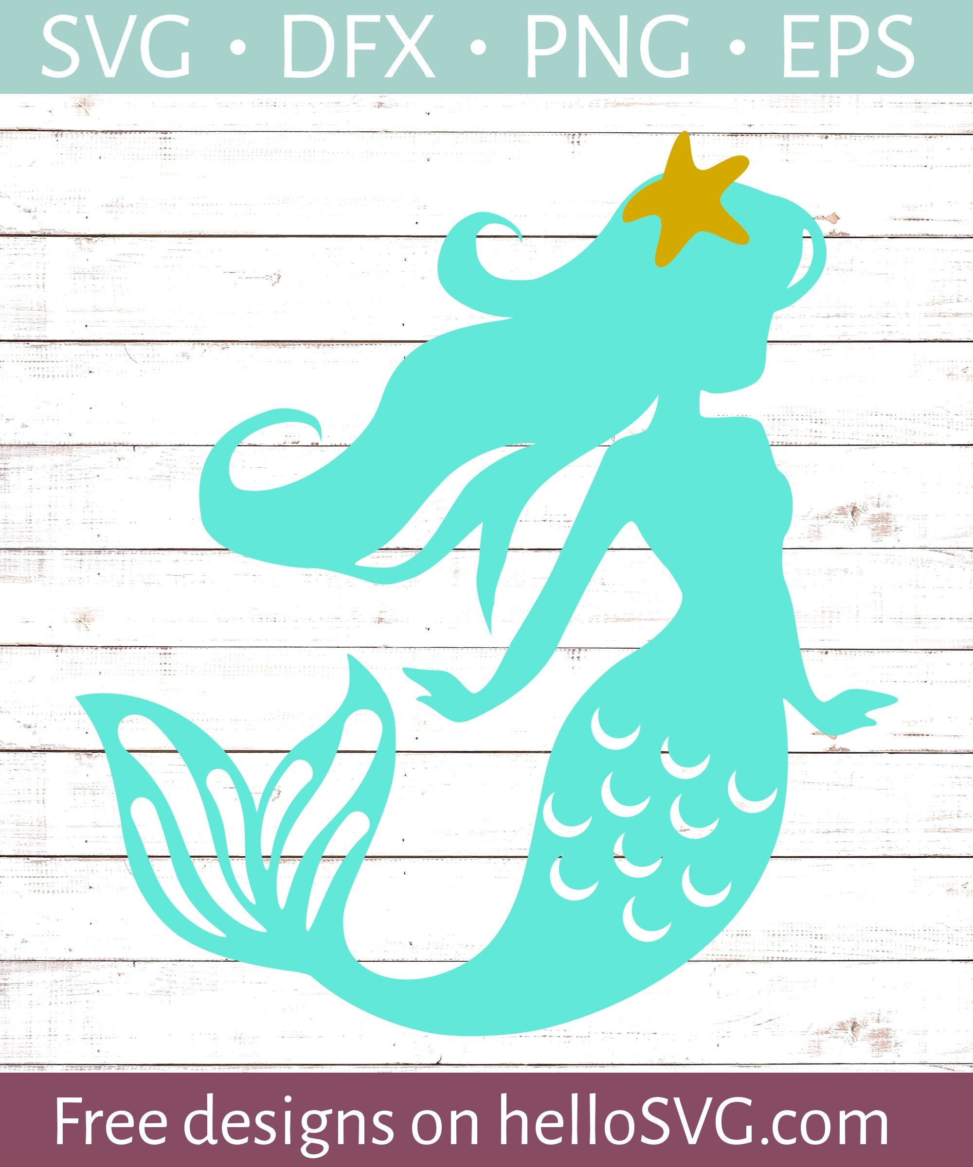 mermaid svg free #1016, Download drawings