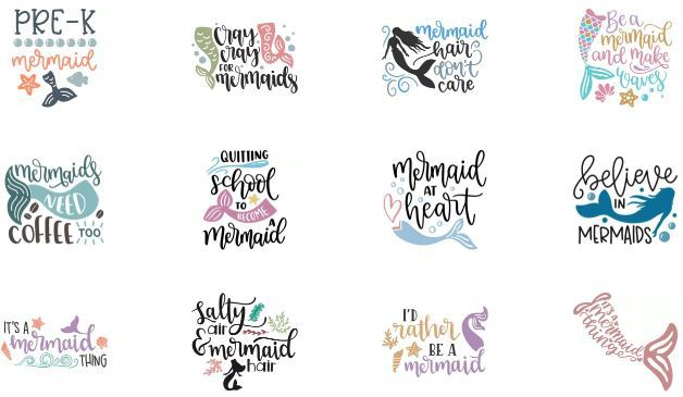 mermaid svg free #1021, Download drawings